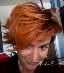 Couleur flamboyante Art-coif