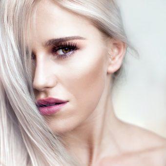 couleur femme platine