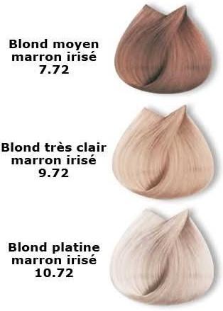 Les blonds Marrons irisés